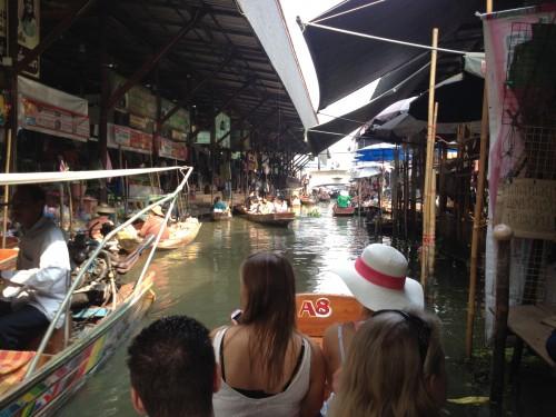 Tours floating market bangkok